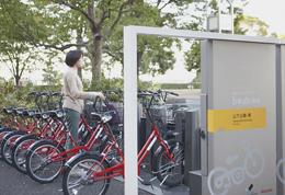 No.9 山下公園-東ポートに自転車 ...